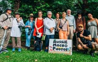 Tour Let's Go Shroomin Group Photo