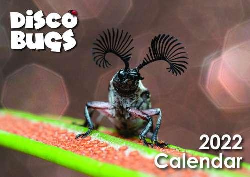 2022 DISCO BUGS Calendar Bridgette Gower 2021 Aussie Macro Photos